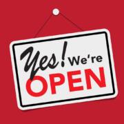 nyitva vagyunk - hétvégi szállítás a lezárások miatt